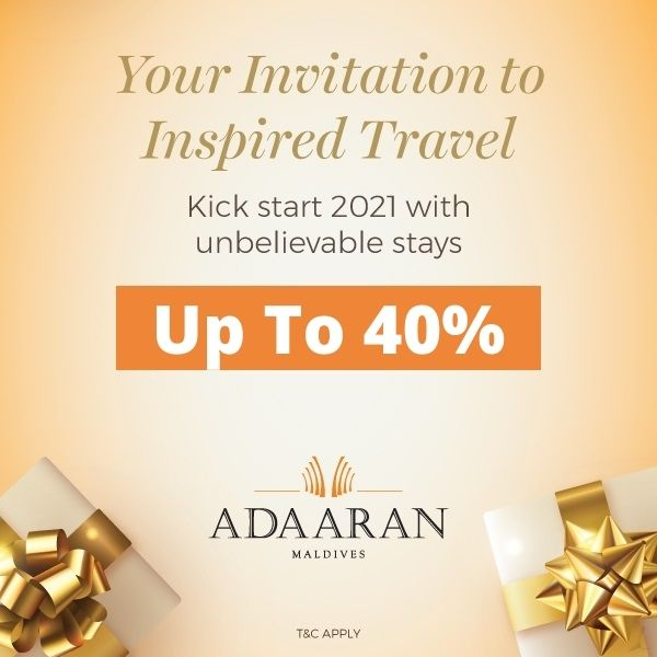 Your invitation to inspired travel Save up to 40%