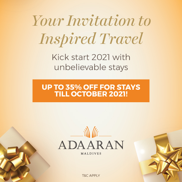 Your invitation to inspired travel: Last Minute Offer Save Up to 35% – Complimentary Transfer & Spa Treatment!