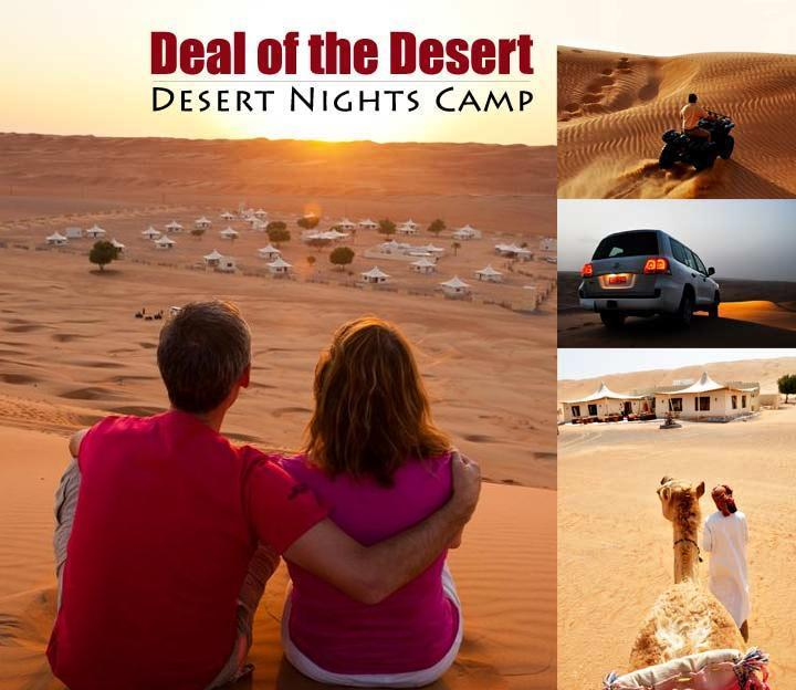 40% OFF - Dessert Nights Camp