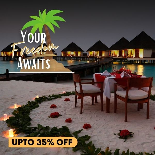 Your Freedom Awaits : Save Up to 35%